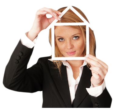 woman-with-house